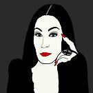 Morticia Adams - The Addams Family by leeseylee