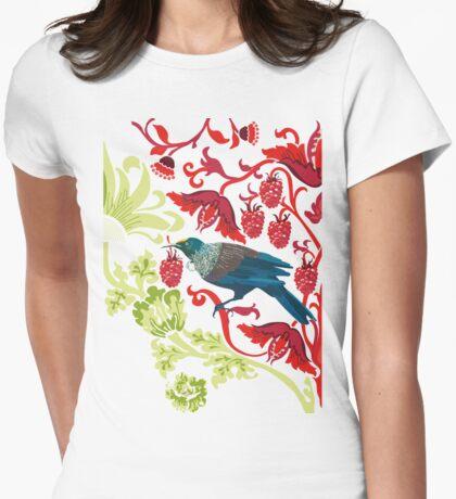 Flowers & Tui - NZ Colours T-Shirt