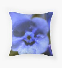 Forgetmenot Throw Pillow