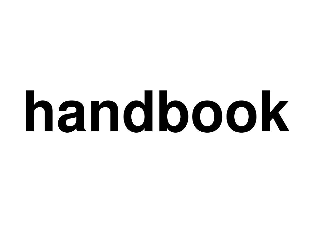 handbook by ninov94