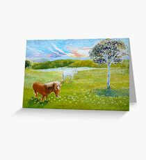 Serenity in the Field Greeting Card
