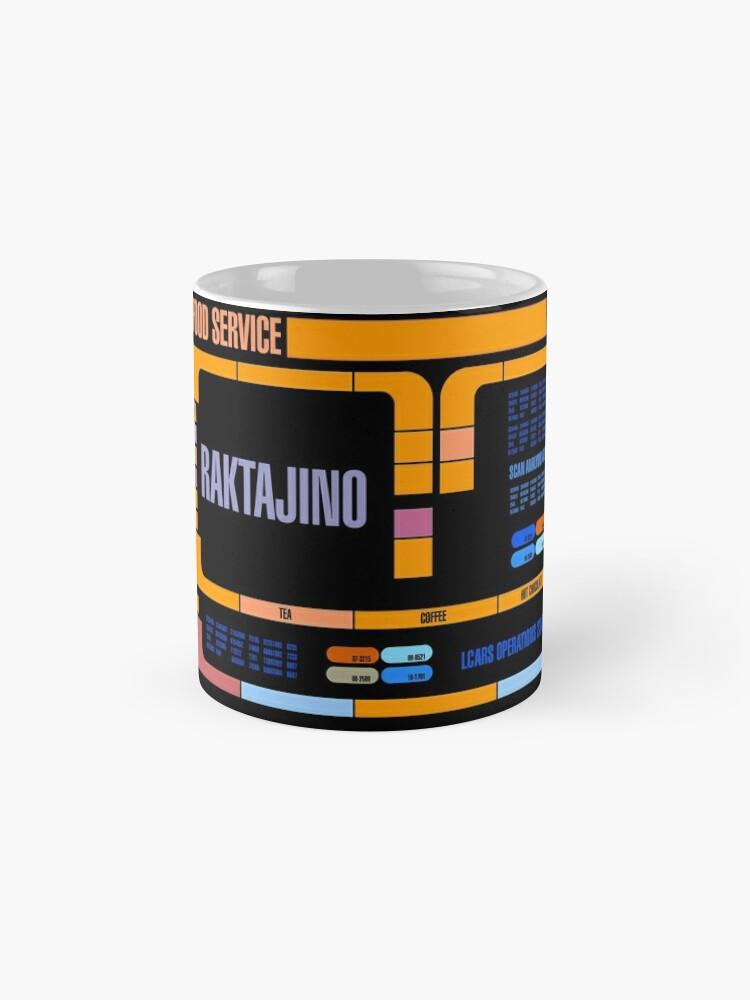 Alternate view of Captains Drink Raktajino Mug