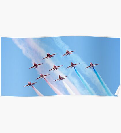 The 2010 Red Arrows Poster