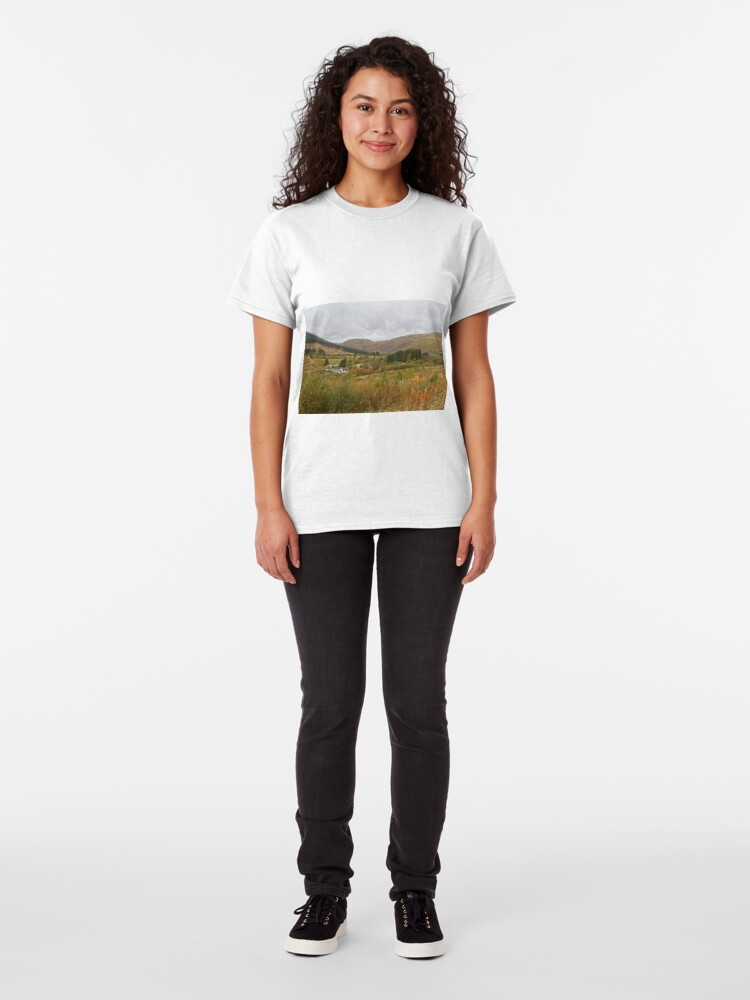 Alternate view of Ettrick Valley Landscapes, Scottish Borders Classic T-Shirt