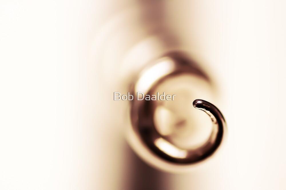 Cherished corkscrew, red...  by Bob Daalder