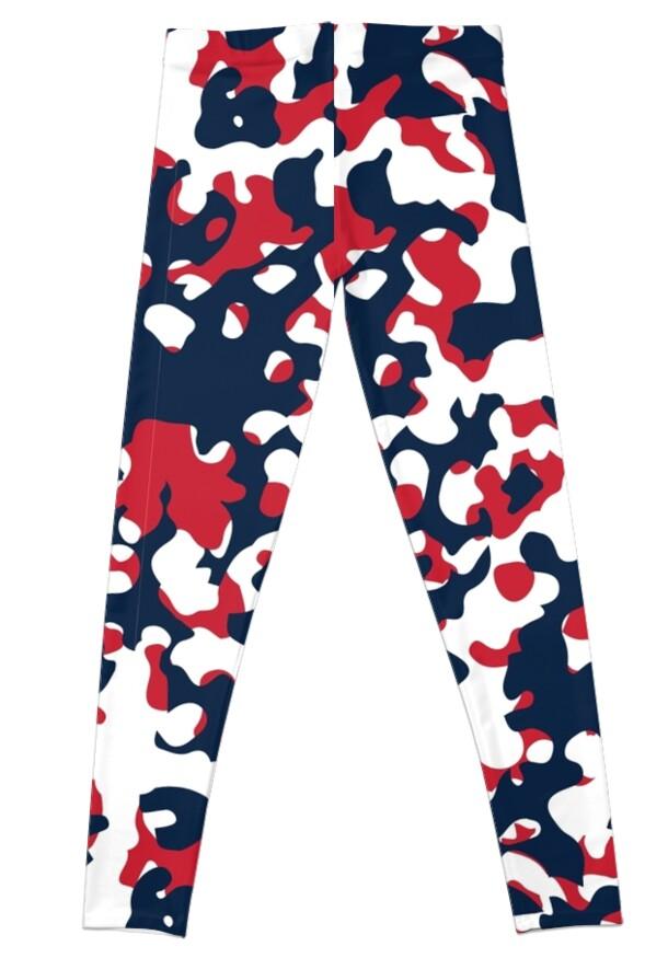 Red, White & Blue Camo Design #2