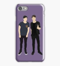 Dan and Phil Silhouettes iPhone Case/Skin