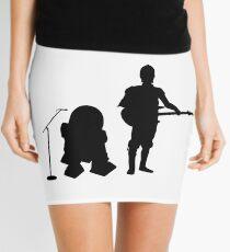 R2D2 C3PO Rock Band Mini Skirt