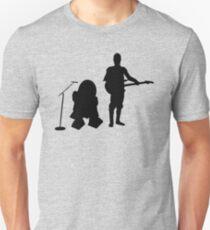 R2D2 C3PO Rock Band Unisex T-Shirt