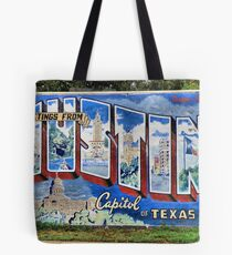 Welcome To Austin Tote Bag