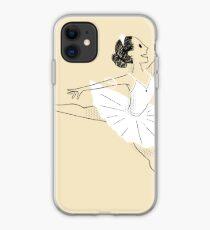 Bailarina de ballet Vinilo o funda para iPhone