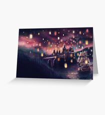 Lights for the Lost Princess Greeting Card