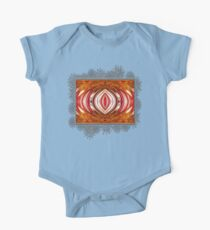 Fire And Ice Abstract Kids Clothes