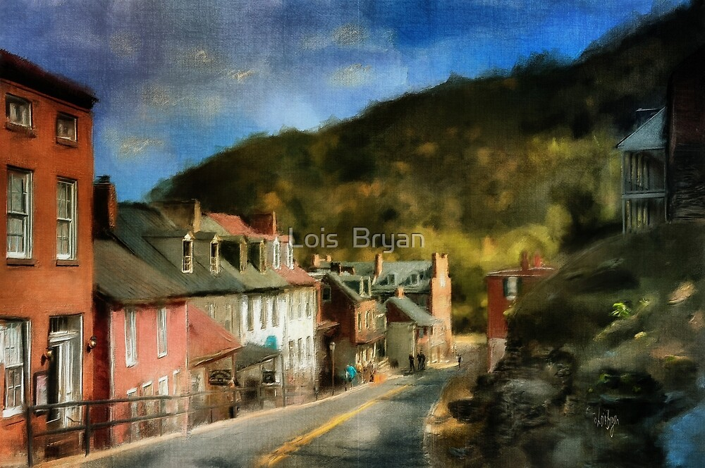 High Street In The Early Evening by Lois  Bryan