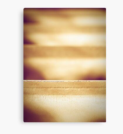 The edge Canvas Print