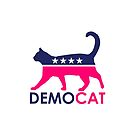 DemoCAT Demo-Cat Democrat - Pink Wave  by Thelittlelord