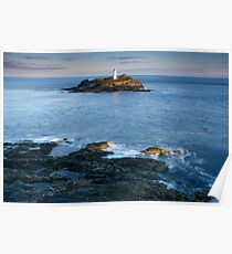 Godrevy Point National Trust Poster