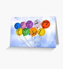 Optimism Every day is Sunny Greeting Card