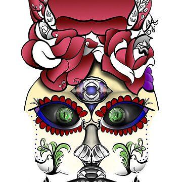 Dia De Los Muertos, Katerina Red by MatthewRoss