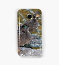 Preening Ducks Samsung Galaxy Case/Skin