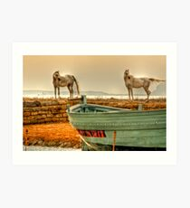 Arab Horses  Art Print