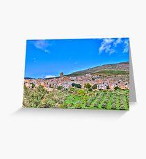 Poggioreale Landscape Greeting Card