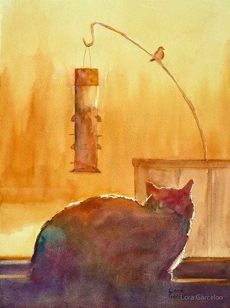 Birdwatching by Lora Garcelon
