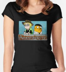 Adventurebusters Women's Fitted Scoop T-Shirt