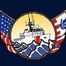 Flags Series - US Coast Guard 270 WMEC by AlwaysReadyCltv