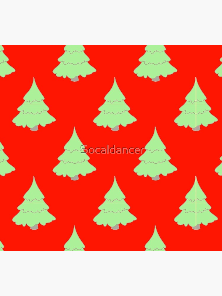 Christmas tree pattern  by Socaldancer
