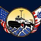 Flags Series - US Coast Guard Harbor Tug by AlwaysReadyCltv