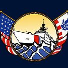 Flags Series - US Coast Guard National Security Cutter by AlwaysReadyCltv