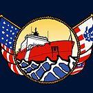 Flags Series - US Coast Guard Polar Icebreaker by AlwaysReadyCltv
