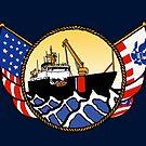Flags Series - US Coast Guard Buoy Tender by AlwaysReadyCltv