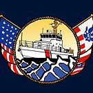 Flags Series - US Coast Guard 87 WPB by AlwaysReadyCltv