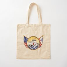 Flags Series - US Coast Guard 87 WPB Cotton Tote Bag