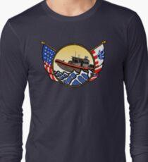 Flags Series - US Coast Guard 33 SPC-LE Long Sleeve T-Shirt