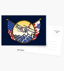 Flags Series - US Coast Guard C-27 Spartan Postcards