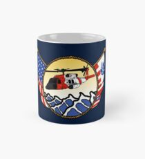 Flags Series - US Coast Guard MH-60 Jayhawk Classic Mug