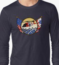 Flags Series - US Coast Guard MH-60 Jayhawk Long Sleeve T-Shirt