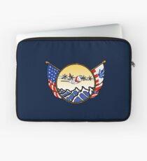 Flags Series - US Coast Guard C-130 Hercules Laptop Sleeve