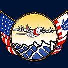 Flags Series - US Coast Guard C-130 Hercules by AlwaysReadyCltv