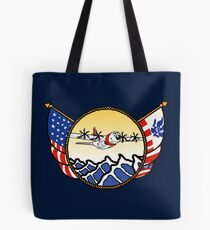 Flags Series - US Coast Guard C-130 Hercules Tote Bag