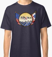 Flags Series - US Coast Guard C-130 Hercules Classic T-Shirt