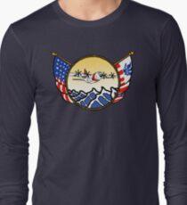 Flags Series - US Coast Guard C-130 Hercules Long Sleeve T-Shirt