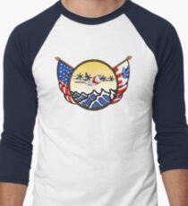 Flags Series - US Coast Guard C-130 Hercules Baseball ¾ Sleeve T-Shirt