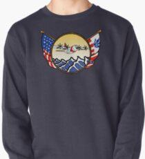 Flags Series - US Coast Guard C-130 Hercules Pullover Sweatshirt