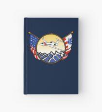 Flags Series - US Coast Guard HU-25 Guardian Hardcover Journal