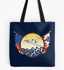 Flags Series - US Coast Guard HU-25 Guardian Tote Bag