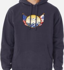 Flags Series - US Coast Guard HU-25 Guardian Pullover Hoodie